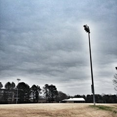 Photo taken at UGA Intramural Fields by George A. on 1/28/2013