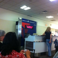 Photo taken at Gate A10 by Bill H. on 4/30/2013