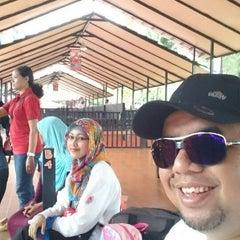 Photo taken at Taman Wisata Pulau Situ Gintung by Riza V. on 1/17/2015