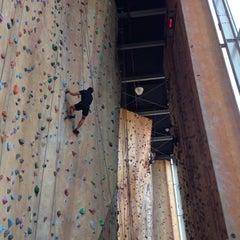Photo taken at Hardrock Indoor Rock Climbing by Calvin M. on 10/27/2014