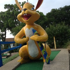 Photo taken at Peter Pan Mini Golf by Bruce on 5/16/2013
