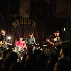 Photo taken at Stubb's Bar-B-Q by Bruce on 6/18/2013