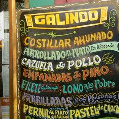 Photo taken at Galindo by Renato B. on 3/24/2013
