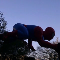 Photo taken at Macy's Parade Balloon Inflation 2012 by Rita R. on 11/22/2012