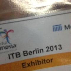Das Foto wurde bei ITB Berlin von Özge am 3/10/2013 aufgenommen