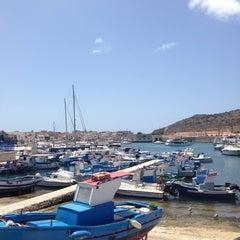 Photo taken at Porto Turistico Marina Di Favignana by MatGrib on 7/9/2014