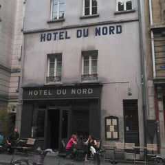 Photo taken at Hôtel du Nord by Fabien D. on 6/18/2013