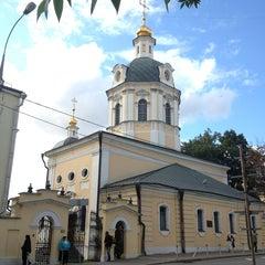 Photo taken at Храм святителя Николая в Звонарях by Alice M. on 8/29/2014