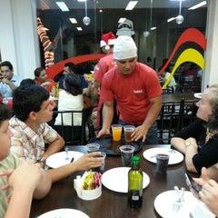 Photo taken at Splash Pizza by Thiago P. on 12/26/2012