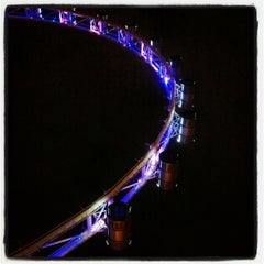Photo taken at The Singapore Flyer by kamakura_a on 2/13/2013