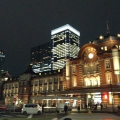 Photo taken at 東京駅 (Tokyo Sta.) by MAT_LUCKY M. on 4/19/2013