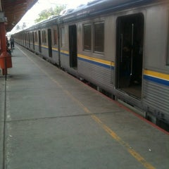 Photo taken at Stasiun Tanjung Barat by olarizqi on 10/10/2012