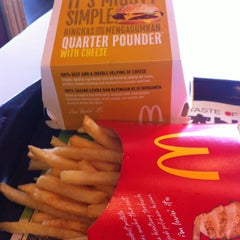Photo taken at McDonald's by Peter L. on 10/18/2012