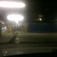 Photo taken at Aupark Shopping Center Garáž | Garage by Eriq H. on 1/26/2013