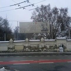 Photo taken at Mendlovo náměstí (tram, bus) by Kattie on 2/24/2013