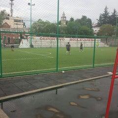 Photo taken at Deportivo Boulevares by José Raúl L. on 7/5/2013