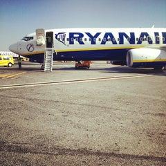 """Photo taken at Aeroporto di Roma Ciampino """"Giovan Battista Pastine"""" (CIA) by Francesco L. on 8/16/2012"""