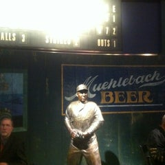 Photo taken at Negro Leagues Baseball Museum by John D Z. on 1/29/2012