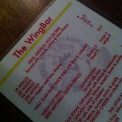 Photo taken at The WingBar by grace k. on 8/26/2012