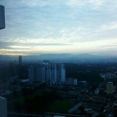 Photo taken at Le Méridien Kuala Lumpur by Mina B. on 10/2/2011