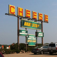 Photo taken at The Brat Stop by Angie G. on 7/2/2012