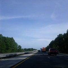 Photo taken at Interstate 95 by Jennifer B. on 8/19/2011