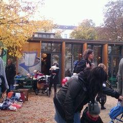 Photo taken at Helmholtzplatz by Bodi A. on 10/30/2011