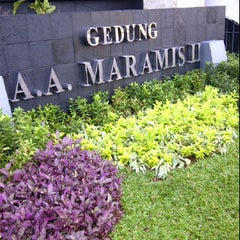 Photo taken at Gedung A.A. Maramis II by Tiwie L. on 1/4/2012