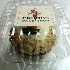 Photo taken at Crumbs Bake Shop by Shasnika D. on 8/15/2012