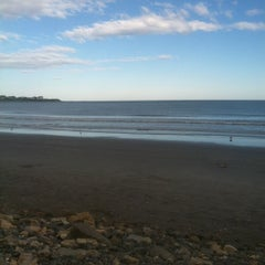 Photo taken at First Beach by Johna M. on 6/27/2012