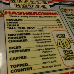 Photo taken at Waffle House by Bunny A. on 11/6/2011