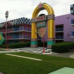 Photo taken at Disney's All-Star Music Resort by Ana Raquel S. on 8/14/2011