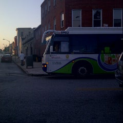 Photo taken at Charm City Circulator - Orange Route by Eric S. on 9/23/2011