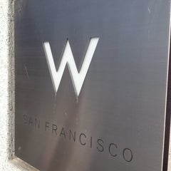Photo taken at W San Francisco by Vanessa M. on 1/1/2012