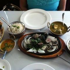 Photo taken at Chola Indian Restaurant by Pao on 6/13/2012
