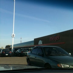 Photo taken at Meijer by Eric B. on 3/26/2012