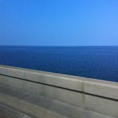 Photo taken at Lake Pontchartrain Causeway by Amanda L. on 6/28/2012