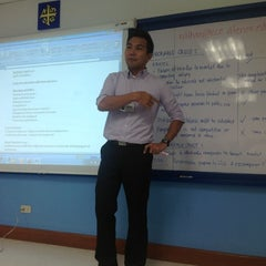 Photo taken at Ateneo Professional Schools by Arpee L. on 8/31/2012