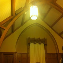 Photo taken at A.P. Green Chapel by Cara W. on 11/17/2011