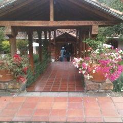 Photo taken at Hacienda Uzhupud by Anita F. on 7/8/2012