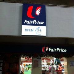 Photo taken at NTUC Fairprice by Evon T. on 12/24/2010