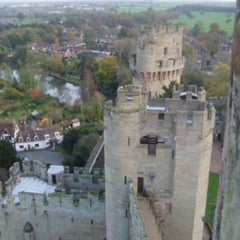 Photo taken at Warwick Castle by Hande G. on 10/3/2011