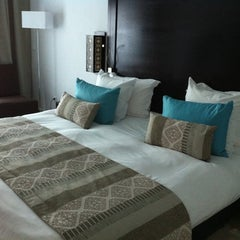 Photo taken at Mövenpick Hotel Gammarth Tunis by Cristina C. on 6/24/2011