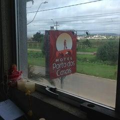 Photo taken at Motel Porto dos Casais by Manoela M. on 9/4/2012