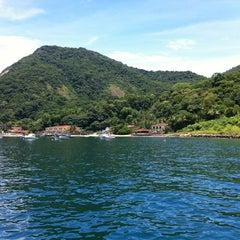 Photo taken at Ilha Grande by Elaine Witt M. on 1/14/2012