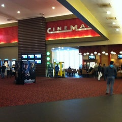 Photo taken at Cinemark by Javier S. on 2/12/2012