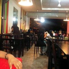 Photo taken at One Smile Bistro by Ayah Mac alKampari on 3/19/2012