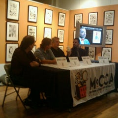 Photo taken at Museum of Comic and Cartoon Art (MoCCA) by Christopher S. on 10/27/2011