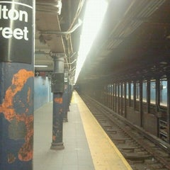 Photo taken at MTA Subway - Fulton St (A/C/J/Z/2/3/4/5) by The Official Khalis on 9/18/2011