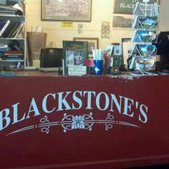 Photo taken at Blackstone's Cafe by Laurence M. on 8/16/2011